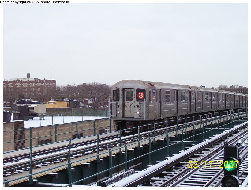 (125k, 820x620)<br><b>Country:</b> United States<br><b>City:</b> New York<br><b>System:</b> New York City Transit<br><b>Line:</b> IRT Brooklyn Line<br><b>Location:</b> Van Siclen Avenue <br><b>Route:</b> 3<br><b>Car:</b> R-62A (Bombardier, 1984-1987)  1930 <br><b>Photo by:</b> Aliandro Brathwaite<br><b>Date:</b> 3/17/2007<br><b>Viewed (this week/total):</b> 0 / 2533