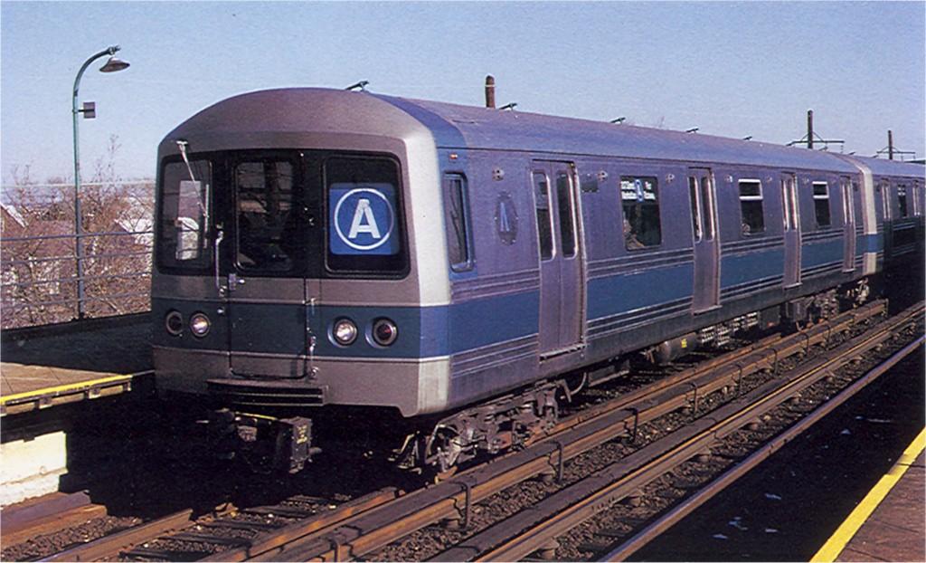 (186k, 1024x622)<br><b>Country:</b> United States<br><b>City:</b> New York<br><b>System:</b> New York City Transit<br><b>Line:</b> IND Rockaway<br><b>Location:</b> Beach 67th Street/Gaston Avenue <br><b>Route:</b> A<br><b>Car:</b> R-44 (St. Louis, 1971-73) 110 <br><b>Photo by:</b> Doug Grotjahn<br><b>Collection of:</b> Joe Testagrose<br><b>Viewed (this week/total):</b> 0 / 2424