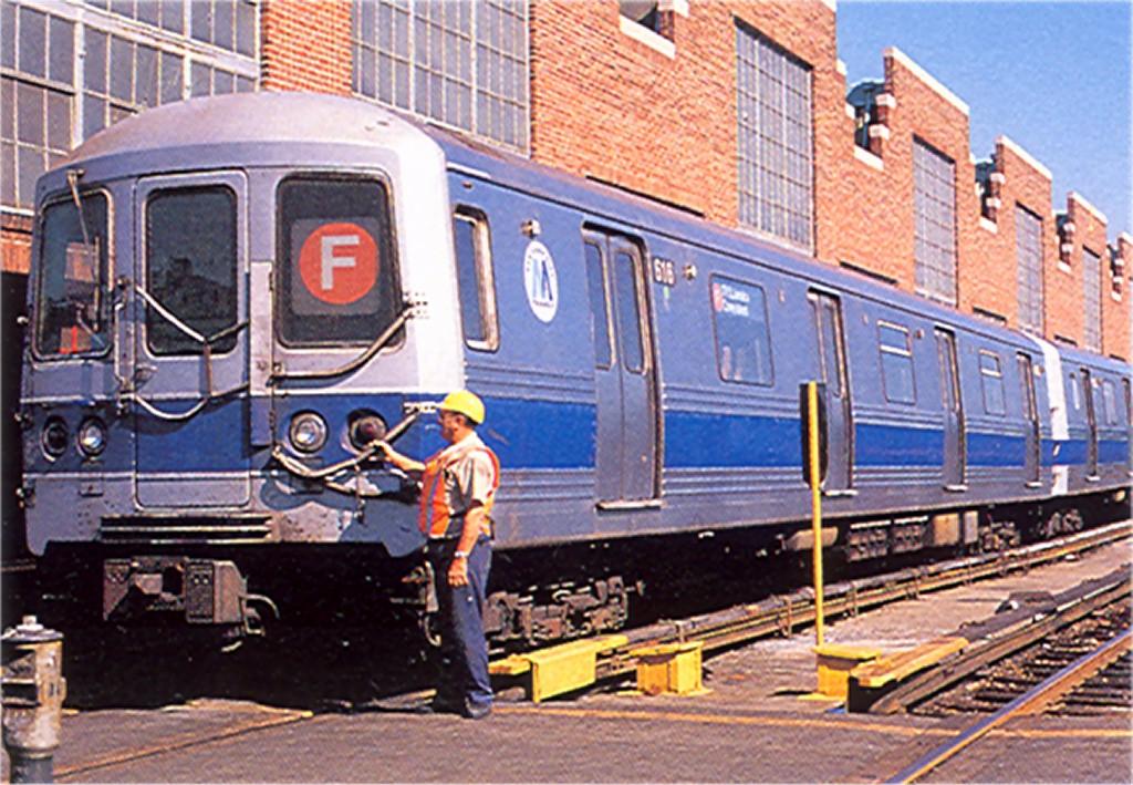 (240k, 1024x709)<br><b>Country:</b> United States<br><b>City:</b> New York<br><b>System:</b> New York City Transit<br><b>Location:</b> Jamaica Yard/Shops<br><b>Car:</b> R-46 (Pullman-Standard, 1974-75) 616 <br><b>Photo by:</b> Doug Grotjahn<br><b>Collection of:</b> Joe Testagrose<br><b>Viewed (this week/total):</b> 1 / 7362
