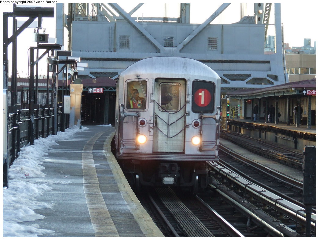 (197k, 1044x788)<br><b>Country:</b> United States<br><b>City:</b> New York<br><b>System:</b> New York City Transit<br><b>Line:</b> IRT West Side Line<br><b>Location:</b> 225th Street <br><b>Route:</b> 1<br><b>Car:</b> R-62A (Bombardier, 1984-1987)  1890 <br><b>Photo by:</b> John Barnes<br><b>Date:</b> 3/20/2007<br><b>Viewed (this week/total):</b> 0 / 2933