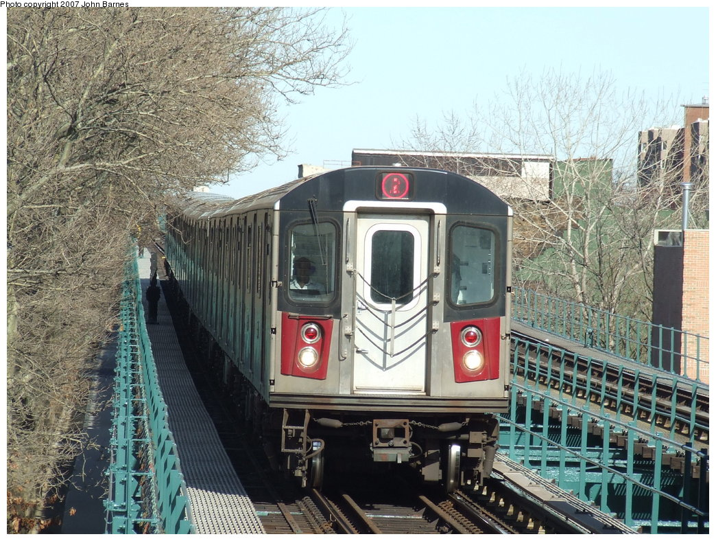 (264k, 1044x788)<br><b>Country:</b> United States<br><b>City:</b> New York<br><b>System:</b> New York City Transit<br><b>Line:</b> IRT Brooklyn Line<br><b>Location:</b> Saratoga Avenue <br><b>Route:</b> 2<br><b>Car:</b> R-142 (Primary Order, Bombardier, 1999-2002)  6661 <br><b>Photo by:</b> John Barnes<br><b>Date:</b> 3/28/2007<br><b>Viewed (this week/total):</b> 1 / 5736