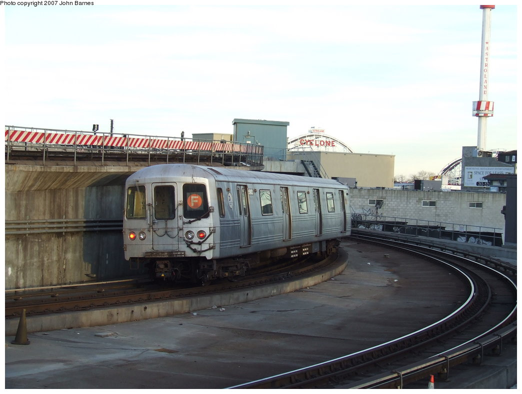 (143k, 1044x788)<br><b>Country:</b> United States<br><b>City:</b> New York<br><b>System:</b> New York City Transit<br><b>Location:</b> Coney Island/Stillwell Avenue<br><b>Route:</b> F<br><b>Car:</b> R-46 (Pullman-Standard, 1974-75) 5982 <br><b>Photo by:</b> John Barnes<br><b>Date:</b> 3/28/2007<br><b>Viewed (this week/total):</b> 0 / 2265