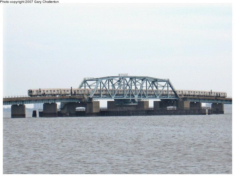 (89k, 820x620)<br><b>Country:</b> United States<br><b>City:</b> New York<br><b>System:</b> New York City Transit<br><b>Line:</b> IND Rockaway<br><b>Location:</b> Jamaica Bay Crossing<br><b>Route:</b> A<br><b>Car:</b> R-44 (St. Louis, 1971-73)  <br><b>Photo by:</b> Gary Chatterton<br><b>Date:</b> 3/27/2007<br><b>Viewed (this week/total):</b> 0 / 2444