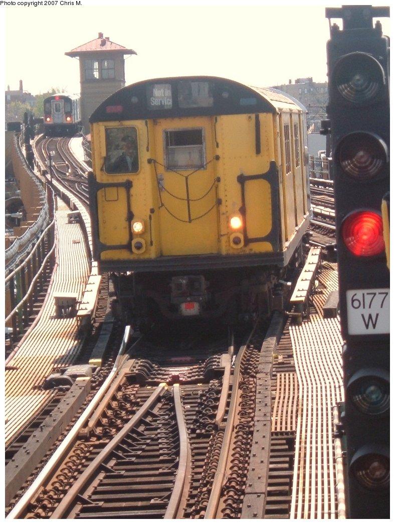 (183k, 788x1044)<br><b>Country:</b> United States<br><b>City:</b> New York<br><b>System:</b> New York City Transit<br><b>Line:</b> IRT White Plains Road Line<br><b>Location:</b> 241st Street <br><b>Route:</b> Fan Trip<br><b>Car:</b> R-22 (St. Louis, 1957-58) 37371 <br><b>Photo by:</b> Chris M.<br><b>Date:</b> 5/1/2005<br><b>Viewed (this week/total):</b> 0 / 2912
