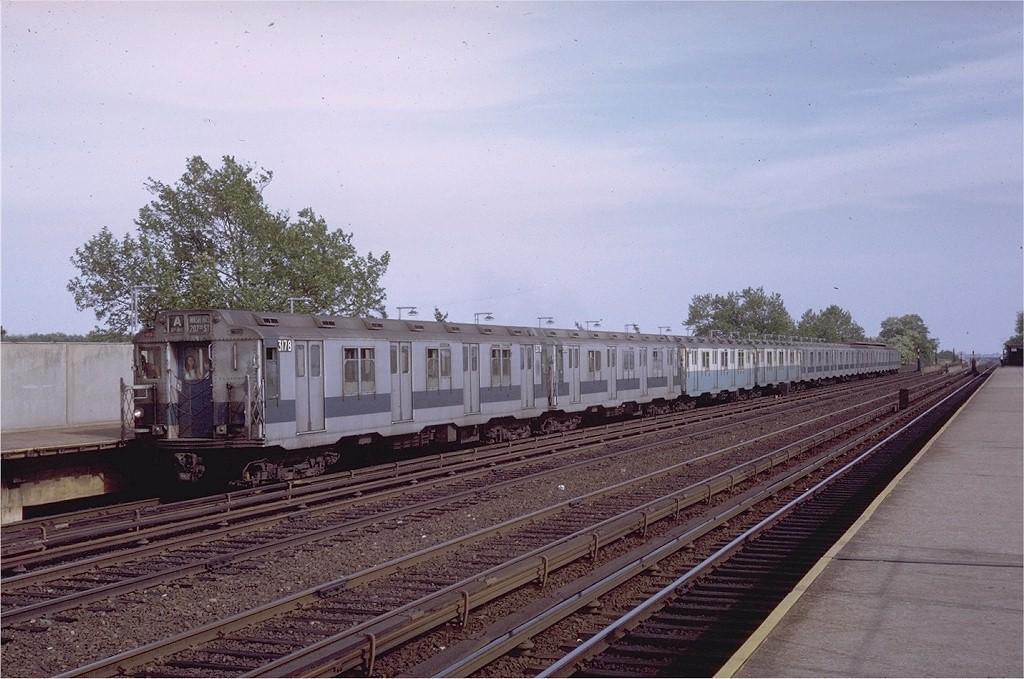 (201k, 1024x679)<br><b>Country:</b> United States<br><b>City:</b> New York<br><b>System:</b> New York City Transit<br><b>Line:</b> IND Rockaway<br><b>Location:</b> Aqueduct/North Conduit Avenue <br><b>Route:</b> A<br><b>Car:</b> R-10 (American Car & Foundry, 1948) 3178 <br><b>Photo by:</b> Steve Zabel<br><b>Collection of:</b> Joe Testagrose<br><b>Date:</b> 6/5/1971<br><b>Viewed (this week/total):</b> 0 / 2259