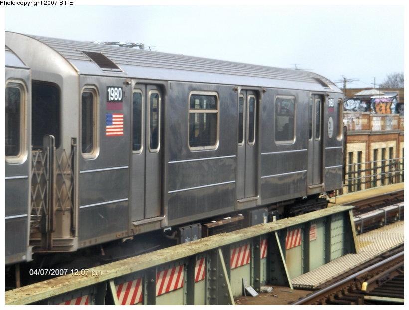 (101k, 820x622)<br><b>Country:</b> United States<br><b>City:</b> New York<br><b>System:</b> New York City Transit<br><b>Line:</b> IRT Flushing Line<br><b>Location:</b> 52nd Street/Lincoln Avenue <br><b>Route:</b> 7<br><b>Car:</b> R-62A (Bombardier, 1984-1987)  1980 <br><b>Photo by:</b> Bill E.<br><b>Date:</b> 4/7/2007<br><b>Viewed (this week/total):</b> 0 / 2349