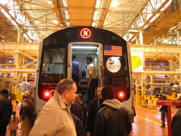 (59k, 600x450)<br><b>Country:</b> United States<br><b>City:</b> New York<br><b>System:</b> New York City Transit<br><b>Location:</b> Coney Island Shop/Overhaul & Repair Shop<br><b>Car:</b> R-160A/R-160B Series (Number Unknown)  <br><b>Photo by:</b> Professor J<br><b>Date:</b> 4/14/2007<br><b>Viewed (this week/total):</b> 0 / 4332
