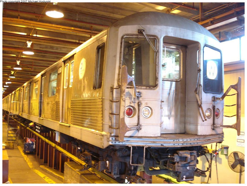 (195k, 1044x788)<br><b>Country:</b> United States<br><b>City:</b> New York<br><b>System:</b> New York City Transit<br><b>Location:</b> Coney Island Shop/Maint. & Inspection Shop<br><b>Car:</b> R-42 (St. Louis, 1969-1970)  4939 <br><b>Photo by:</b> Michael Hodurski<br><b>Date:</b> 4/14/2007<br><b>Viewed (this week/total):</b> 0 / 2220