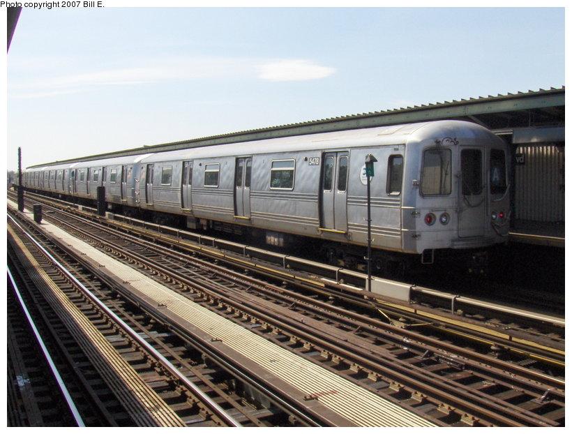 (126k, 820x622)<br><b>Country:</b> United States<br><b>City:</b> New York<br><b>System:</b> New York City Transit<br><b>Line:</b> IND Fulton Street Line<br><b>Location:</b> Rockaway Boulevard <br><b>Route:</b> A<br><b>Car:</b> R-44 (St. Louis, 1971-73) 5478 <br><b>Photo by:</b> Bill E.<br><b>Date:</b> 4/22/2007<br><b>Viewed (this week/total):</b> 4 / 2190