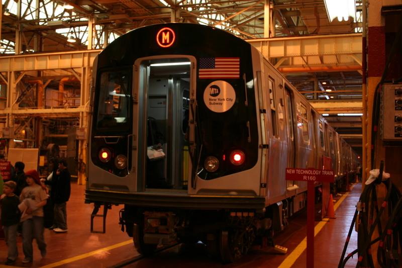(150k, 800x533)<br><b>Country:</b> United States<br><b>City:</b> New York<br><b>System:</b> New York City Transit<br><b>Location:</b> Coney Island Shop/Overhaul & Repair Shop<br><b>Car:</b> R-160A-1 (Alstom, 2005-2008, 4 car sets)  8325 <br><b>Photo by:</b> Neil Feldman<br><b>Date:</b> 4/14/2007<br><b>Viewed (this week/total):</b> 0 / 3611