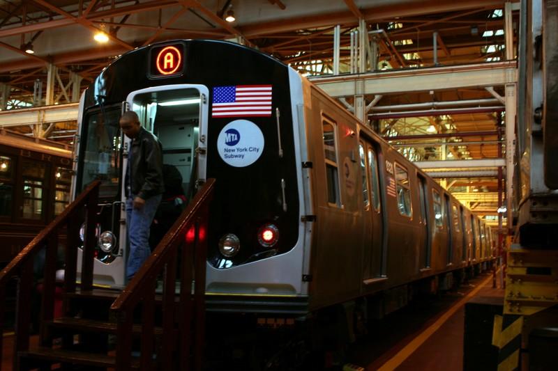 (113k, 800x533)<br><b>Country:</b> United States<br><b>City:</b> New York<br><b>System:</b> New York City Transit<br><b>Location:</b> Coney Island Shop/Overhaul & Repair Shop<br><b>Car:</b> R-160A-1 (Alstom, 2005-2008, 4 car sets)  8328 <br><b>Photo by:</b> Neil Feldman<br><b>Date:</b> 4/14/2007<br><b>Viewed (this week/total):</b> 1 / 4038
