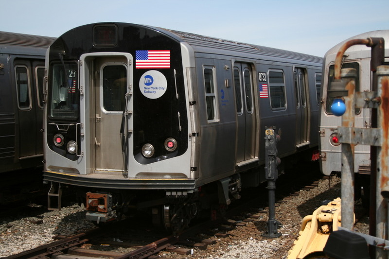 (133k, 800x533)<br><b>Country:</b> United States<br><b>City:</b> New York<br><b>System:</b> New York City Transit<br><b>Location:</b> Coney Island Yard<br><b>Car:</b> R-160B (Kawasaki, 2005-2008)  8732 <br><b>Photo by:</b> Neil Feldman<br><b>Date:</b> 4/14/2007<br><b>Viewed (this week/total):</b> 1 / 1916