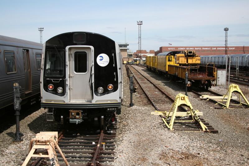(170k, 800x533)<br><b>Country:</b> United States<br><b>City:</b> New York<br><b>System:</b> New York City Transit<br><b>Location:</b> Coney Island Yard<br><b>Car:</b> R-160B (Kawasaki, 2005-2008)  8772 <br><b>Photo by:</b> Neil Feldman<br><b>Date:</b> 4/14/2007<br><b>Viewed (this week/total):</b> 0 / 1927