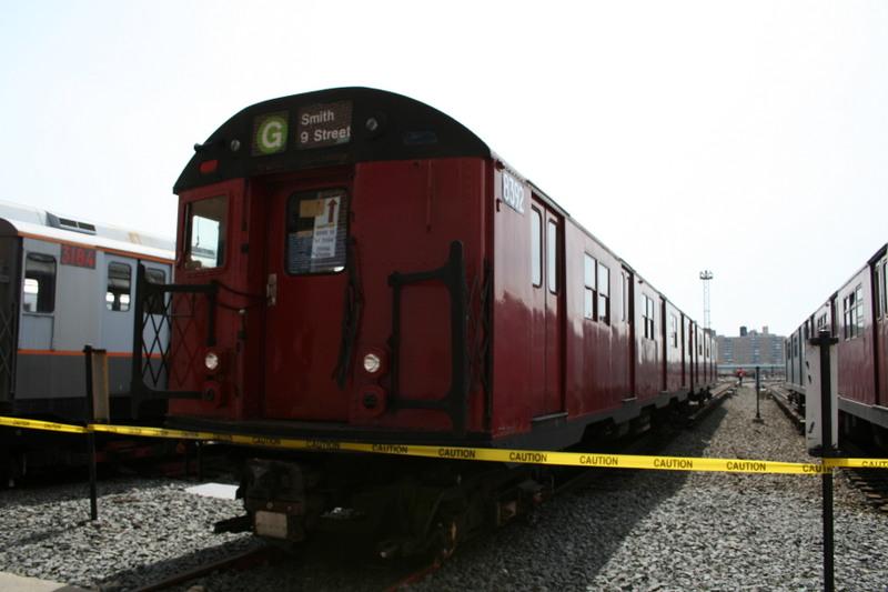 (103k, 800x533)<br><b>Country:</b> United States<br><b>City:</b> New York<br><b>System:</b> New York City Transit<br><b>Location:</b> Coney Island Yard<br><b>Car:</b> R-30 (St. Louis, 1961) 8392 <br><b>Photo by:</b> Neil Feldman<br><b>Date:</b> 4/14/2007<br><b>Viewed (this week/total):</b> 1 / 2620