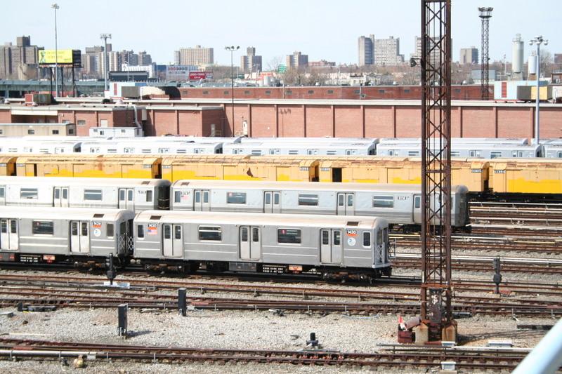 (194k, 800x533)<br><b>Country:</b> United States<br><b>City:</b> New York<br><b>System:</b> New York City Transit<br><b>Location:</b> Coney Island Yard<br><b>Car:</b> R-62 (Kawasaki, 1983-1985)  1430 <br><b>Photo by:</b> Neil Feldman<br><b>Date:</b> 4/14/2007<br><b>Viewed (this week/total):</b> 0 / 2584
