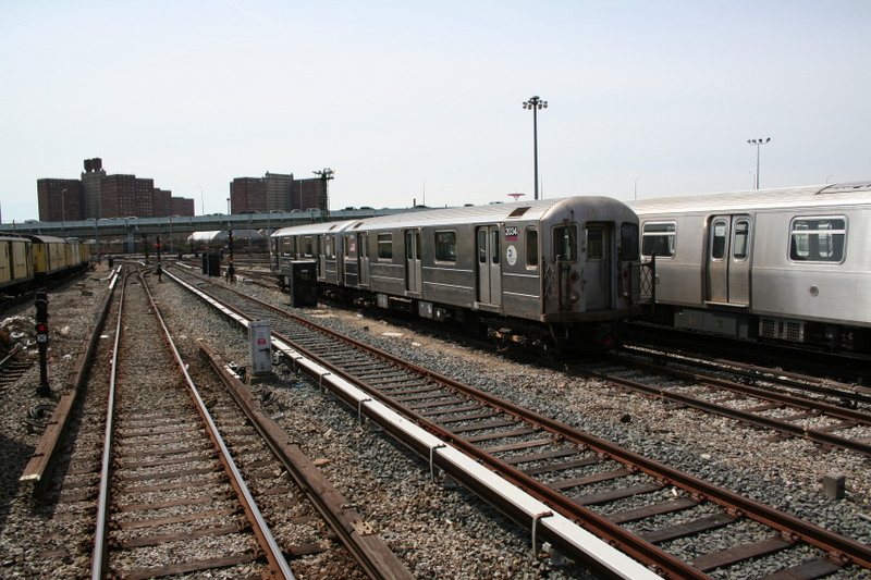 (163k, 800x533)<br><b>Country:</b> United States<br><b>City:</b> New York<br><b>System:</b> New York City Transit<br><b>Location:</b> Coney Island Yard<br><b>Car:</b> R-62A (Bombardier, 1984-1987)  2004 <br><b>Photo by:</b> Neil Feldman<br><b>Date:</b> 4/14/2007<br><b>Viewed (this week/total):</b> 0 / 1956