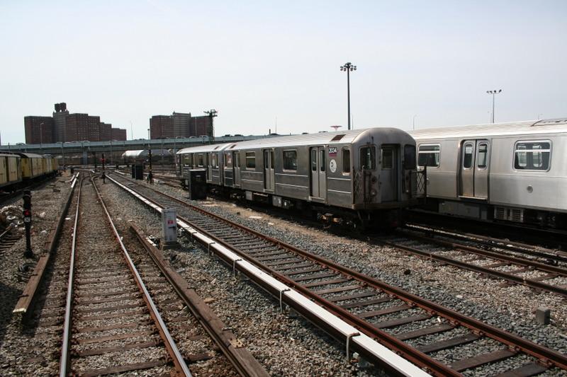 (163k, 800x533)<br><b>Country:</b> United States<br><b>City:</b> New York<br><b>System:</b> New York City Transit<br><b>Location:</b> Coney Island Yard<br><b>Car:</b> R-62A (Bombardier, 1984-1987)  2004 <br><b>Photo by:</b> Neil Feldman<br><b>Date:</b> 4/14/2007<br><b>Viewed (this week/total):</b> 2 / 1946
