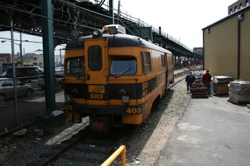 (150k, 800x533)<br><b>Country:</b> United States<br><b>City:</b> New York<br><b>System:</b> New York City Transit<br><b>Location:</b> Coney Island Yard<br><b>Car:</b> Sperry Rail Service  403 <br><b>Photo by:</b> Neil Feldman<br><b>Date:</b> 4/14/2007<br><b>Viewed (this week/total):</b> 1 / 2457