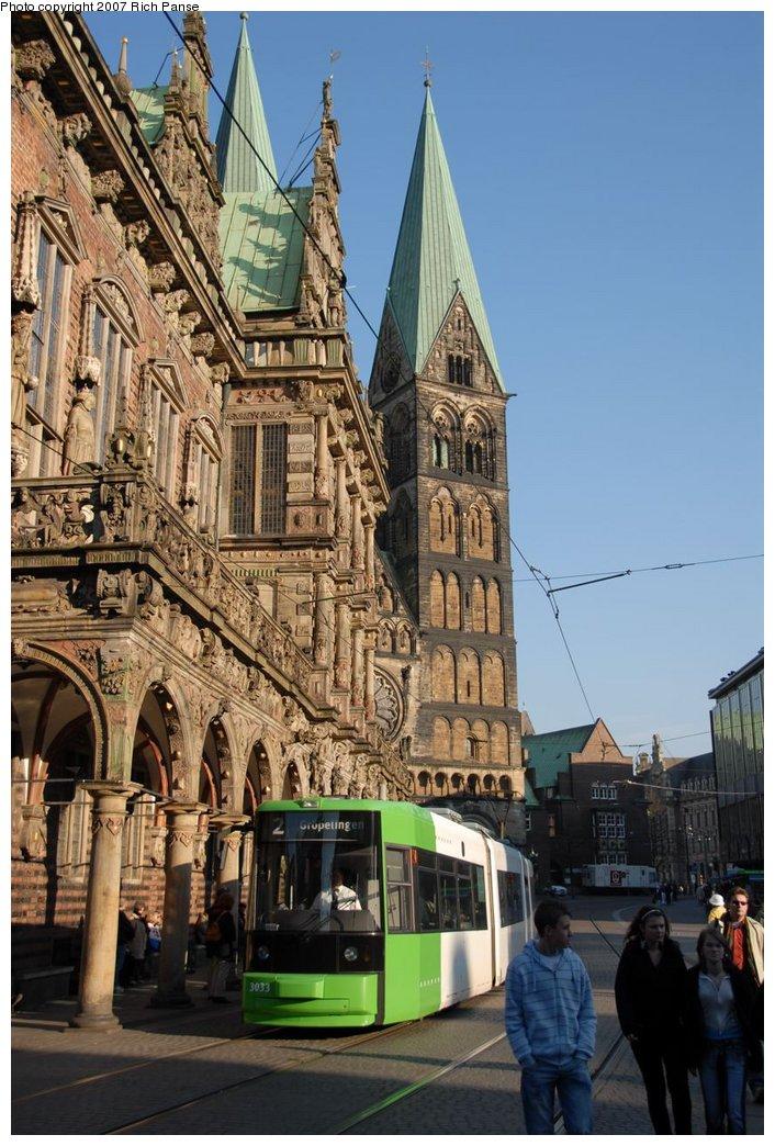 (181k, 706x1044)<br><b>Country:</b> Germany<br><b>City:</b> Bremen<br><b>System:</b> BSAG (Bremer Strassenbahn AG)<br><b>Location:</b> Rathaus <br><b>Route:</b> 2<br><b>Car:</b> Duewag GT8N  3033 <br><b>Photo by:</b> Richard Panse<br><b>Date:</b> 3/26/2007<br><b>Viewed (this week/total):</b> 0 / 494