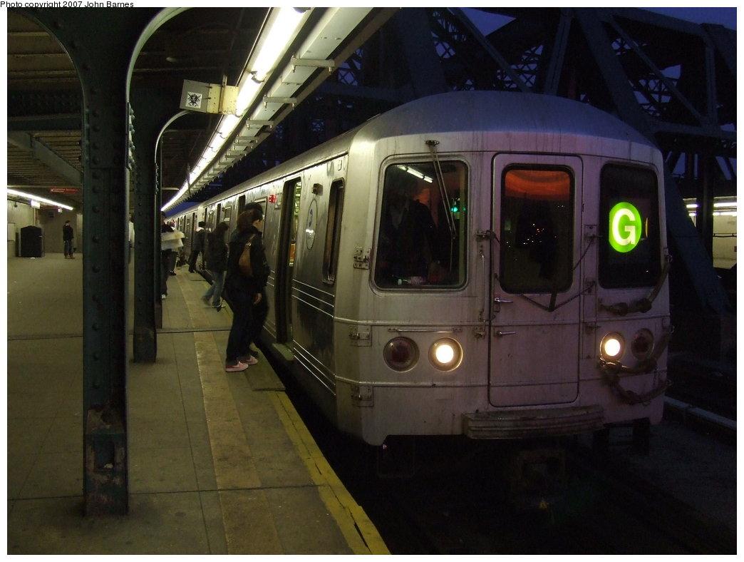 (145k, 1044x788)<br><b>Country:</b> United States<br><b>City:</b> New York<br><b>System:</b> New York City Transit<br><b>Line:</b> IND Crosstown Line<br><b>Location:</b> Smith/9th Street <br><b>Route:</b> G<br><b>Car:</b> R-46 (Pullman-Standard, 1974-75) 6244 <br><b>Photo by:</b> John Barnes<br><b>Date:</b> 5/7/2007<br><b>Viewed (this week/total):</b> 0 / 3055