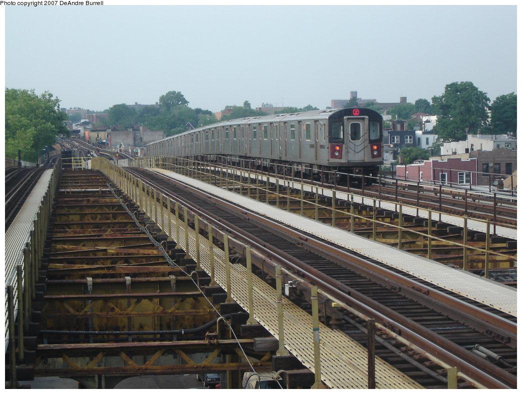 (202k, 1044x788)<br><b>Country:</b> United States<br><b>City:</b> New York<br><b>System:</b> New York City Transit<br><b>Line:</b> IRT White Plains Road Line<br><b>Location:</b> Gun Hill Road <br><b>Route:</b> 2<br><b>Car:</b> R-142 (Primary Order, Bombardier, 1999-2002)  6715 <br><b>Photo by:</b> DeAndre Burrell<br><b>Date:</b> 6/22/2006<br><b>Viewed (this week/total):</b> 1 / 2368