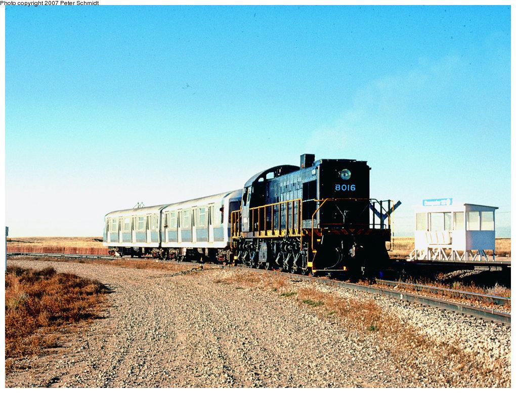 (285k, 1020x777)<br><b>Country:</b> United States<br><b>City:</b> New York<br><b>System:</b> New York City Transit<br><b>Location:</b> US DOT Test Facility, Pueblo, Colorado<br><b>Car:</b> R-42 (St. Louis, 1969-1970)  4764/5 <br><b>Photo by:</b> Peter Schmidt<br><b>Date:</b> 10/1978<br><b>Viewed (this week/total):</b> 0 / 2289