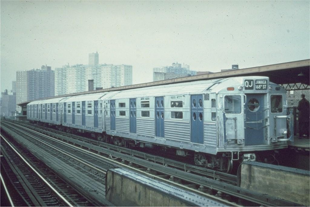 (176k, 1024x683)<br><b>Country:</b> United States<br><b>City:</b> New York<br><b>System:</b> New York City Transit<br><b>Line:</b> BMT Nassau Street/Jamaica Line<br><b>Location:</b> Flushing Avenue <br><b>Route:</b> Fan Trip<br><b>Car:</b> R-11 (Budd, 1949) 8013 <br><b>Collection of:</b> Joe Testagrose<br><b>Date:</b> 11/1967<br><b>Viewed (this week/total):</b> 0 / 2730