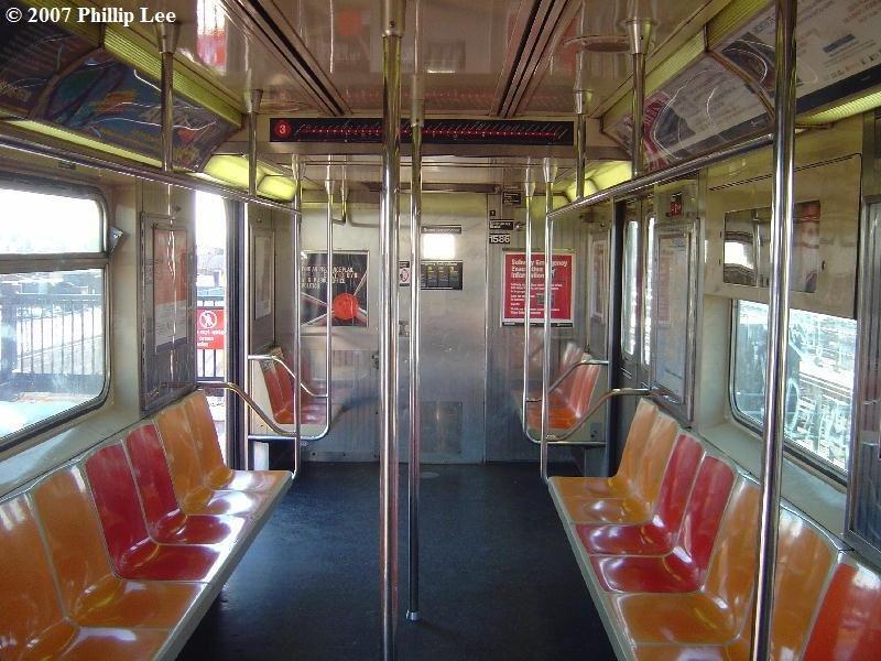 (115k, 800x600)<br><b>Country:</b> United States<br><b>City:</b> New York<br><b>System:</b> New York City Transit<br><b>Route:</b> 3<br><b>Car:</b> R-62 (Kawasaki, 1983-1985)  1586 <br><b>Photo by:</b> Phillip Lee<br><b>Date:</b> 3/20/2007<br><b>Viewed (this week/total):</b> 1 / 2077