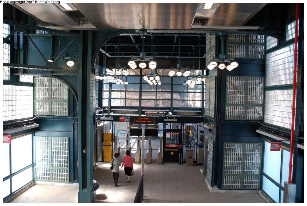 (235k, 1044x700)<br><b>Country:</b> United States<br><b>City:</b> New York<br><b>System:</b> New York City Transit<br><b>Line:</b> IRT White Plains Road Line<br><b>Location:</b> Gun Hill Road <br><b>Photo by:</b> Brian Weinberg<br><b>Date:</b> 5/13/2007<br><b>Notes:</b> View of the new headhouse, elevators.<br><b>Viewed (this week/total):</b> 0 / 3123