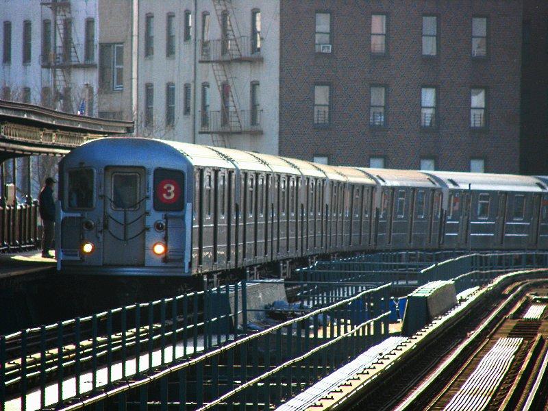 (139k, 800x600)<br><b>Country:</b> United States<br><b>City:</b> New York<br><b>System:</b> New York City Transit<br><b>Line:</b> IRT Brooklyn Line<br><b>Location:</b> Saratoga Avenue <br><b>Route:</b> 3<br><b>Car:</b> R-62 (Kawasaki, 1983-1985)  1420 <br><b>Photo by:</b> Bill E.<br><b>Date:</b> 3/7/2010<br><b>Viewed (this week/total):</b> 3 / 1221