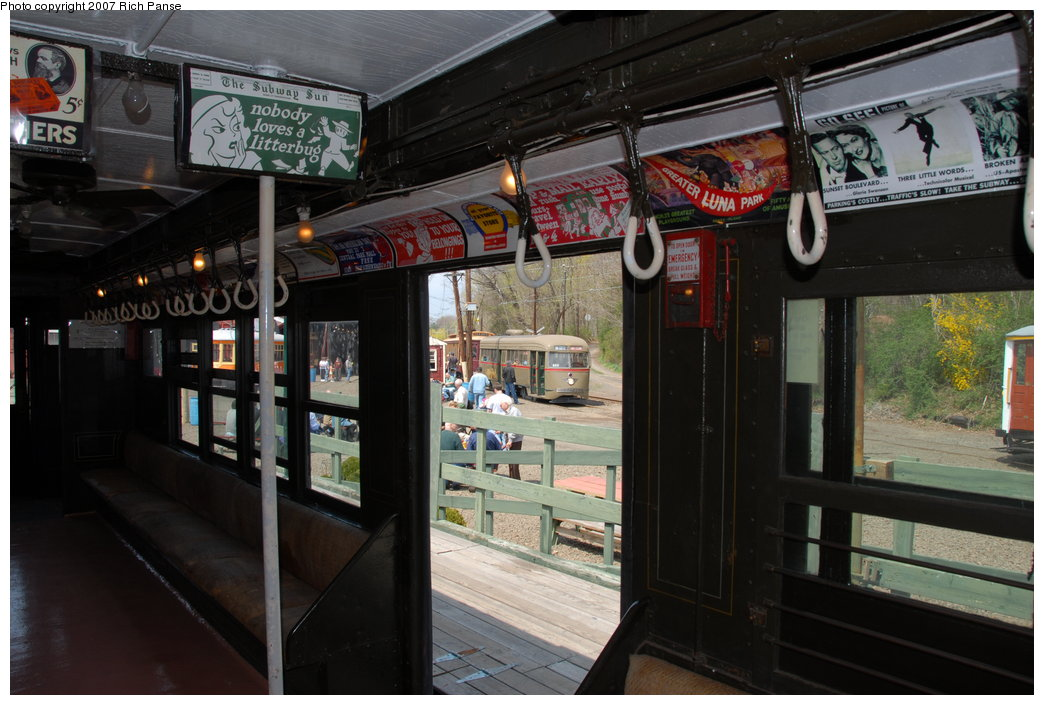 (189k, 1044x705)<br><b>Country:</b> United States<br><b>City:</b> East Haven/Branford, Ct.<br><b>System:</b> Shore Line Trolley Museum <br><b>Car:</b> Low-V 5466 <br><b>Photo by:</b> Richard Panse<br><b>Date:</b> 4/28/2007<br><b>Viewed (this week/total):</b> 6 / 1245