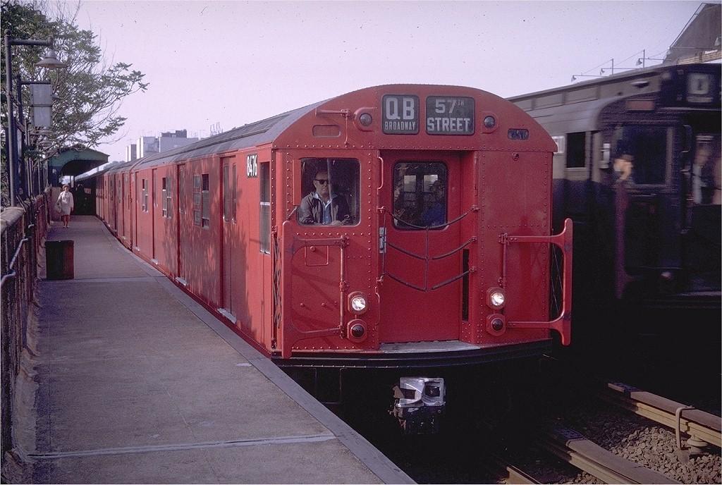 (220k, 1024x688)<br><b>Country:</b> United States<br><b>City:</b> New York<br><b>System:</b> New York City Transit<br><b>Line:</b> BMT Brighton Line<br><b>Location:</b> Avenue J <br><b>Route:</b> QB<br><b>Car:</b> R-30 (St. Louis, 1961) 8476 <br><b>Photo by:</b> Doug Grotjahn<br><b>Collection of:</b> Joe Testagrose<br><b>Date:</b> 5/29/1969<br><b>Viewed (this week/total):</b> 1 / 2352
