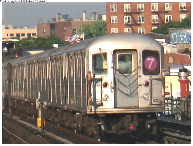 (112k, 820x620)<br><b>Country:</b> United States<br><b>City:</b> New York<br><b>System:</b> New York City Transit<br><b>Line:</b> IRT Flushing Line<br><b>Location:</b> 74th Street/Broadway <br><b>Route:</b> 7<br><b>Car:</b> R-62A (Bombardier, 1984-1987)  1655 <br><b>Photo by:</b> Gary Chatterton<br><b>Date:</b> 5/24/2007<br><b>Viewed (this week/total):</b> 0 / 2058