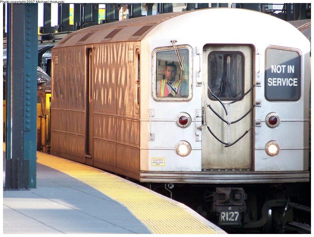 (179k, 1044x788)<br><b>Country:</b> United States<br><b>City:</b> New York<br><b>System:</b> New York City Transit<br><b>Location:</b> Coney Island/Stillwell Avenue<br><b>Route:</b> Work Service<br><b>Car:</b> R-127/R-134 (Kawasaki, 1991-1996) EP006 <br><b>Photo by:</b> Michael Hodurski<br><b>Date:</b> 6/5/2007<br><b>Viewed (this week/total):</b> 1 / 2402