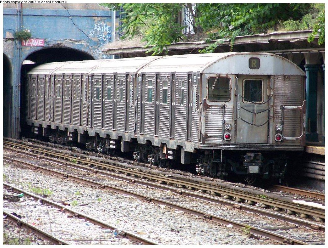 (281k, 1044x788)<br><b>Country:</b> United States<br><b>City:</b> New York<br><b>System:</b> New York City Transit<br><b>Line:</b> BMT Sea Beach Line<br><b>Location:</b> 18th Avenue <br><b>Route:</b> R<br><b>Car:</b> R-32 (Budd, 1964)  3780 <br><b>Photo by:</b> Michael Hodurski<br><b>Date:</b> 6/6/2007<br><b>Viewed (this week/total):</b> 0 / 1854