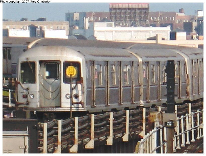 (109k, 820x620)<br><b>Country:</b> United States<br><b>City:</b> New York<br><b>System:</b> New York City Transit<br><b>Line:</b> BMT Astoria Line<br><b>Location:</b> Queensborough Plaza <br><b>Route:</b> N<br><b>Car:</b> R-40M (St. Louis, 1969)  4469 <br><b>Photo by:</b> Gary Chatterton<br><b>Date:</b> 5/27/2007<br><b>Viewed (this week/total):</b> 2 / 3299