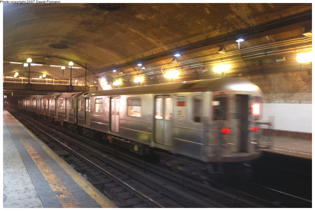 (197k, 1044x701)<br><b>Country:</b> United States<br><b>City:</b> New York<br><b>System:</b> New York City Transit<br><b>Line:</b> IRT West Side Line<br><b>Location:</b> 168th Street <br><b>Route:</b> 1<br><b>Car:</b> R-62A (Bombardier, 1984-1987)  2380 <br><b>Photo by:</b> David Pirmann<br><b>Date:</b> 6/9/2007<br><b>Viewed (this week/total):</b> 0 / 3072