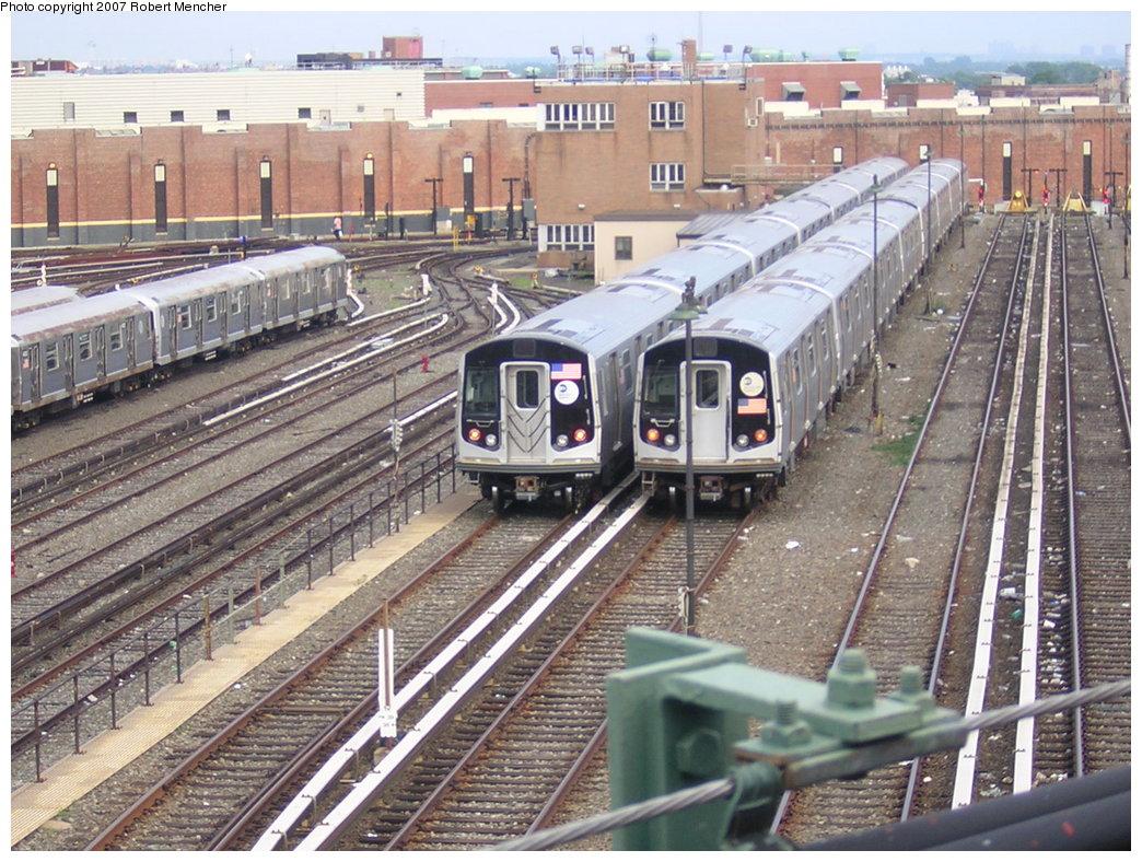 (265k, 1044x788)<br><b>Country:</b> United States<br><b>City:</b> New York<br><b>System:</b> New York City Transit<br><b>Location:</b> East New York Yard/Shops<br><b>Photo by:</b> Robert Mencher<br><b>Date:</b> 6/12/2007<br><b>Viewed (this week/total):</b> 0 / 1432