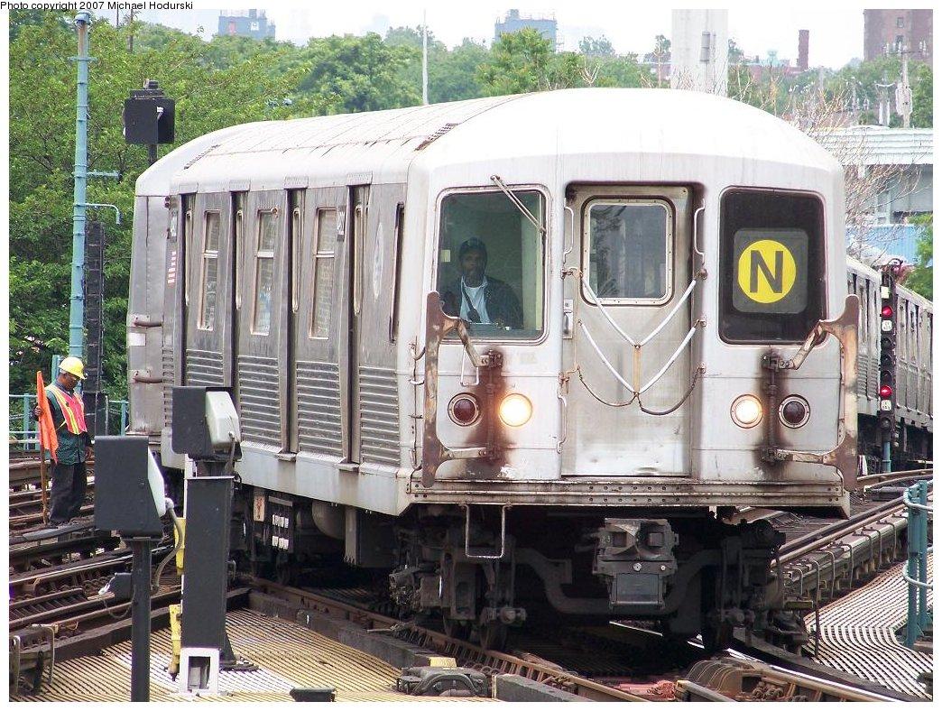 (255k, 1044x788)<br><b>Country:</b> United States<br><b>City:</b> New York<br><b>System:</b> New York City Transit<br><b>Location:</b> Coney Island/Stillwell Avenue<br><b>Route:</b> N<br><b>Car:</b> R-42 (St. Louis, 1969-1970)  4922 <br><b>Photo by:</b> Michael Hodurski<br><b>Date:</b> 6/10/2007<br><b>Viewed (this week/total):</b> 2 / 2471