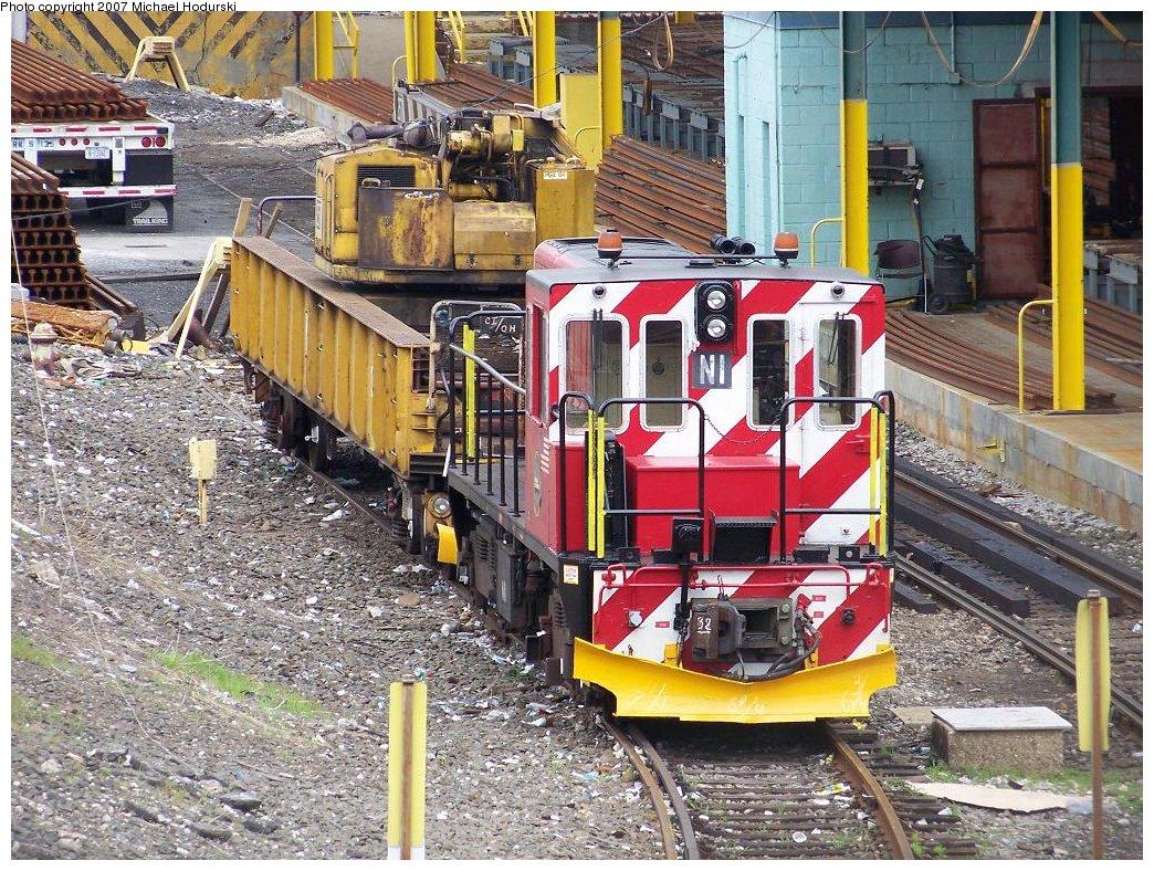 (308k, 1044x788)<br><b>Country:</b> United States<br><b>City:</b> New York<br><b>System:</b> New York City Transit<br><b>Location:</b> 36th Street Yard<br><b>Car:</b> R-47 (SBK) Locomotive  N1 <br><b>Photo by:</b> Michael Hodurski<br><b>Date:</b> 6/13/2007<br><b>Viewed (this week/total):</b> 0 / 2372