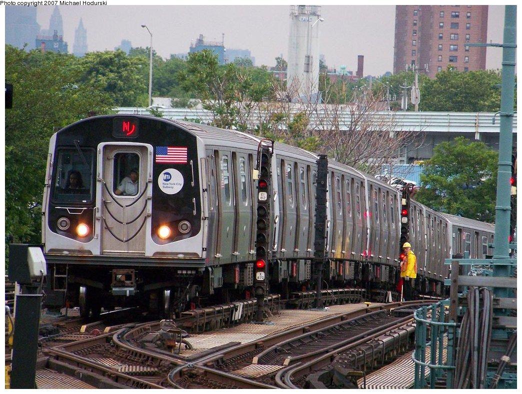 (261k, 1044x788)<br><b>Country:</b> United States<br><b>City:</b> New York<br><b>System:</b> New York City Transit<br><b>Location:</b> Coney Island/Stillwell Avenue<br><b>Route:</b> N<br><b>Car:</b> R-160A-2 (Alstom, 2005-2008, 5 car sets)  8658 <br><b>Photo by:</b> Michael Hodurski<br><b>Date:</b> 6/13/2007<br><b>Viewed (this week/total):</b> 2 / 2503
