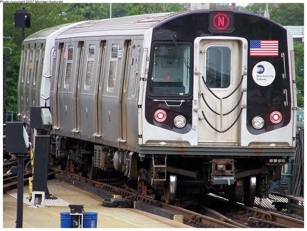 (233k, 1044x788)<br><b>Country:</b> United States<br><b>City:</b> New York<br><b>System:</b> New York City Transit<br><b>Location:</b> Coney Island/Stillwell Avenue<br><b>Route:</b> N<br><b>Car:</b> R-160A-2 (Alstom, 2005-2008, 5 car sets)  8658 <br><b>Photo by:</b> Michael Hodurski<br><b>Date:</b> 6/13/2007<br><b>Viewed (this week/total):</b> 0 / 2203
