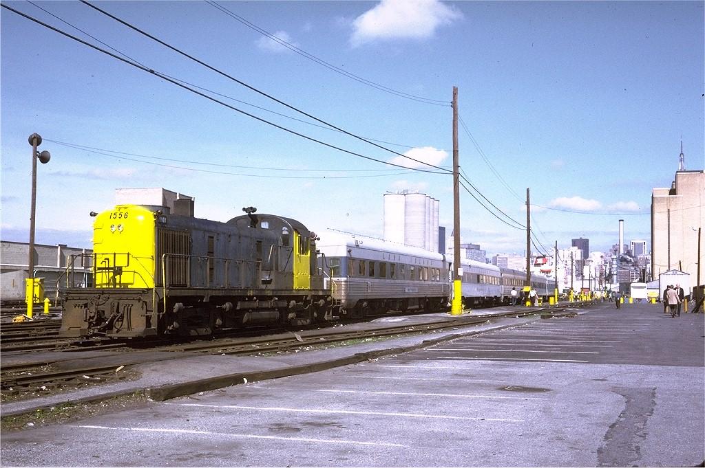 (244k, 1024x681)<br><b>Country:</b> United States<br><b>City:</b> New York<br><b>System:</b> Long Island Rail Road<br><b>Line:</b> LIRR Long Island City<br><b>Location:</b> Long Island City <br><b>Route:</b> Fan Trip<br><b>Car:</b> LIRR Alco RS-3 (Diesel) 1556 <br><b>Photo by:</b> Steve Zabel<br><b>Collection of:</b> Joe Testagrose<br><b>Date:</b> 6/17/1973<br><b>Viewed (this week/total):</b> 3 / 1994