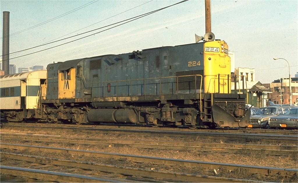 (212k, 1024x630)<br><b>Country:</b> United States<br><b>City:</b> New York<br><b>System:</b> Long Island Rail Road<br><b>Line:</b> LIRR Long Island City<br><b>Location:</b> Long Island City <br><b>Car:</b> LIRR Alco C-420 (Diesel) 224 <br><b>Photo by:</b> Ed McKernan<br><b>Collection of:</b> Joe Testagrose<br><b>Viewed (this week/total):</b> 0 / 978