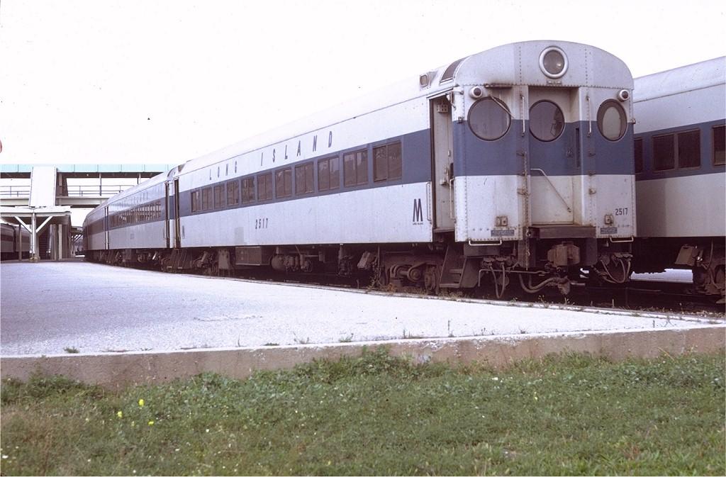 (178k, 1024x673)<br><b>Country:</b> United States<br><b>System:</b> Long Island Rail Road<br><b>Line:</b> LIRR Hempstead<br><b>Location:</b> Belmont Park <br><b>Car:</b> LIRR MP72  2517 <br><b>Photo by:</b> Doug Grotjahn<br><b>Collection of:</b> Joe Testagrose<br><b>Date:</b> 10/9/1971<br><b>Viewed (this week/total):</b> 2 / 2351