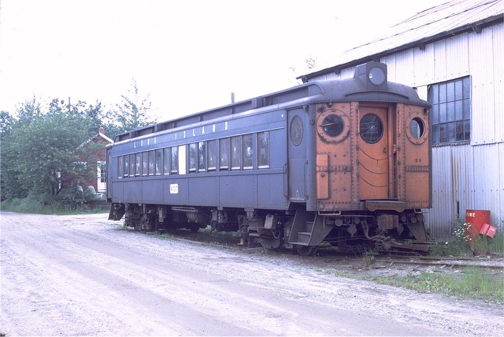 (197k, 1024x684)<br><b>Country:</b> United States<br><b>City:</b> Kennebunk, ME<br><b>System:</b> Seashore Trolley Museum <br><b>Car:</b> LIRR MP54  4137 <br><b>Photo by:</b> Doug Grotjahn<br><b>Collection of:</b> Joe Testagrose<br><b>Date:</b> 7/1/1972<br><b>Viewed (this week/total):</b> 1 / 1558