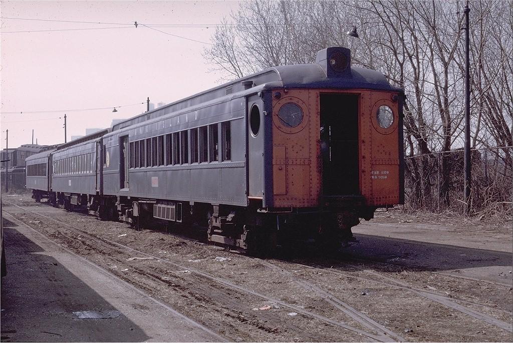 (292k, 1024x685)<br><b>Country:</b> United States<br><b>City:</b> New York<br><b>System:</b> New York City Transit<br><b>Location:</b> Coney Island Yard<br><b>Car:</b> LIRR MP54  4370 <br><b>Photo by:</b> Doug Grotjahn<br><b>Collection of:</b> Joe Testagrose<br><b>Date:</b> 4/4/1969<br><b>Viewed (this week/total):</b> 0 / 1921