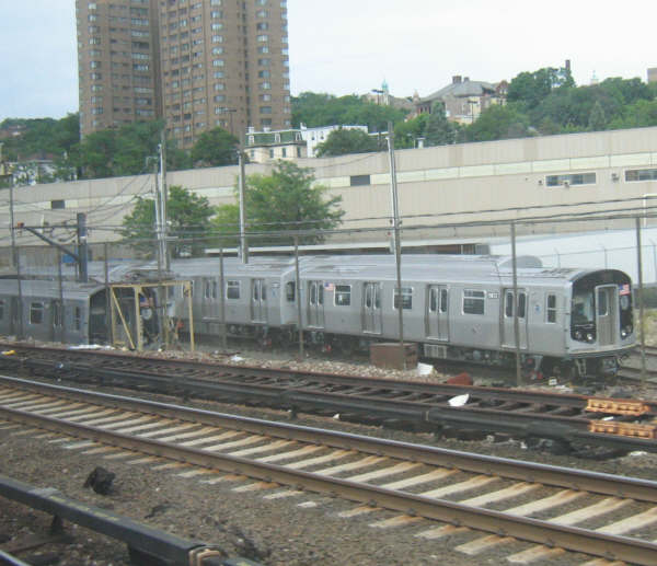 (48k, 600x517)<br><b>Country:</b> United States<br><b>City:</b> New York<br><b>System:</b> New York City Transit<br><b>Location:</b> Kawasaki Plant, Yonkers, NY<br><b>Car:</b> R-160A/R-160B Series (Number Unknown)  <br><b>Photo by:</b> Professor J<br><b>Date:</b> 6/10/2007<br><b>Viewed (this week/total):</b> 0 / 2081