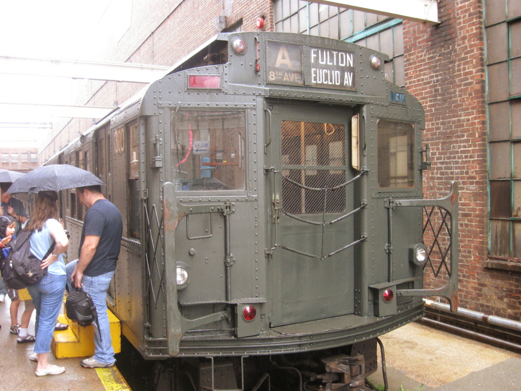 (483k, 1024x768)<br><b>Country:</b> United States<br><b>City:</b> New York<br><b>System:</b> New York City Transit<br><b>Location:</b> 207th Street Yard<br><b>Route:</b> Fan Trip<br><b>Car:</b> R-6-1 (Pressed Steel, 1936)  1300 <br><b>Photo by:</b> Jorge Catayi<br><b>Date:</b> 8/2/2009<br><b>Viewed (this week/total):</b> 1 / 1197
