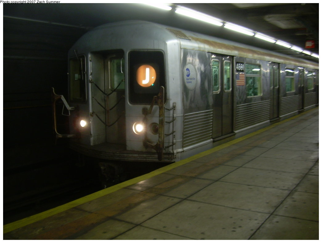 (143k, 1044x788)<br><b>Country:</b> United States<br><b>City:</b> New York<br><b>System:</b> New York City Transit<br><b>Line:</b> BMT Broadway Line<br><b>Location:</b> Jay St./Metrotech (Lawrence St.) <br><b>Route:</b> J<br><b>Car:</b> R-42 (St. Louis, 1969-1970)  4561 <br><b>Photo by:</b> Zach Summer<br><b>Date:</b> 6/9/2007<br><b>Viewed (this week/total):</b> 0 / 3754